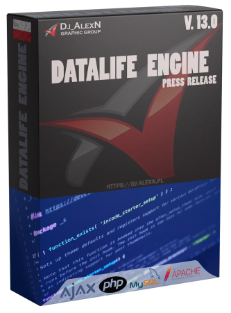 DataLife Engine 13.0 Press Release