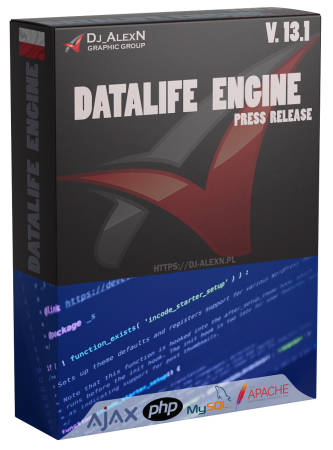 DataLife Engine v.13.1 Press Release
