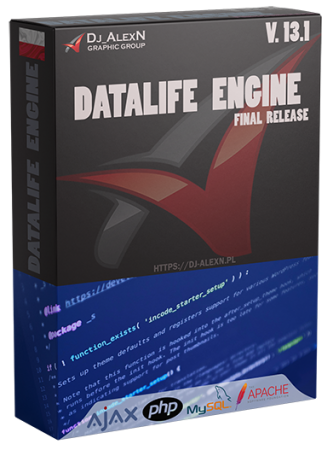 DataLife Engine 13.1 Final Release Nulled PL by Dj_AlexN Graphic