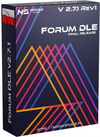 DLE Forum 2.7.1 Rev.1 Edition by NOVAK Studio